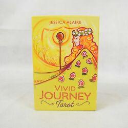 Vivid Journey Tarot Kit 78 Cards Guidebook Jessica Alaire Used $24.99