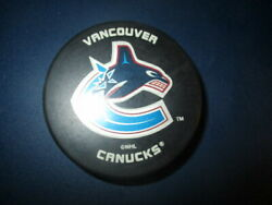 VANCOUVER CANUCKS Old Whale Logo Official Hockey Puck By InGlasCo $7.99
