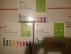 23andMe Personal Genetic Service - Saliva Collection Kit - Lot of 3