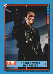 1991 Terminator II Judgment Day Stickers #37 Programmed To Protect