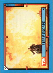 1991 Terminator II Judgment Day Stickers #13 Fiery Escape