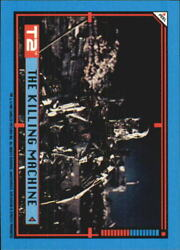 1991 Terminator II Judgment Day Stickers #44 The Killing Machine