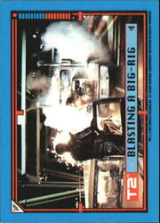 1991 Terminator II Judgment Day Stickers #27 Blasting a Big-Rig