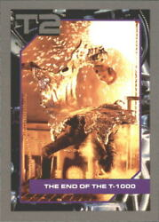 1991 Terminator II #122 The End of the T-1000