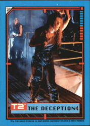 1991 Terminator II Judgment Day Stickers #34 The Deception