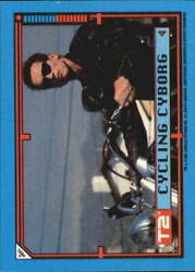 1991 Terminator II Judgment Day Stickers #40 Cycling Cyborg