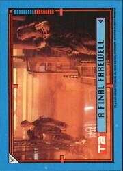 1991 Terminator II Judgment Day Stickers #36 A Final Farewell