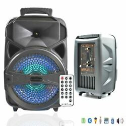 Wireless Portable FM Bluetooth Speaker Subwoofer Heavy Bass Sound System Party $38.99