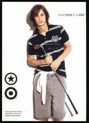 2007 CONVERSE ONE TARGET SHOES CLOTHING ADVERTISING PROMO GOLF RELATED POSTCARD $2.99