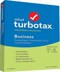 TurboTax Business 2019 Tax Software (PC Disc) + FREE SHIPPING