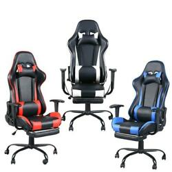 New High Back Racing Style Office Gaming Chair Race Seat Computer Desk Seat $110.90
