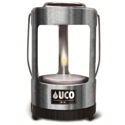 NEW UCO Mini Candle Lantern Silver Aluminum Tealight Candles Tent Light amp; Warmth $16.49