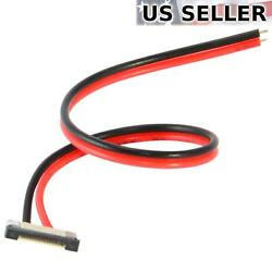 10mm LED Light Strip Connector 2-Wire Solderless Pigtail Clip for 5050 (10-Pack) $5.95