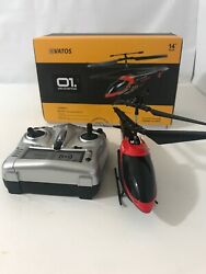 Vatos Helicopter Remote Control Helicopter Indoor 3.5 Channels Mini RC Flying $29.00