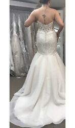 Mori Lee 8120  size 12 wedding dress GREAT CONDITION NOT ALTERED DRY CLEANED $360.00