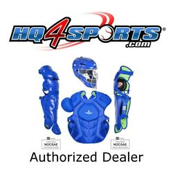 All-Star System 7 Axis Solid CKCC912S7XS Youth Catchers Gear Set - Royal $349.95
