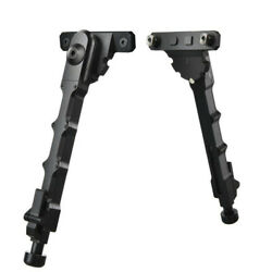 Aluminum 7.5quot; 9quot; Adjustable Spring M lok Rifle Bipod For Tactical Hunting $34.99