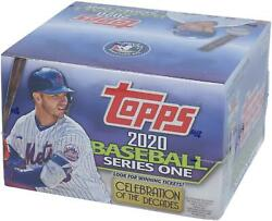 2020 Topps Baseball Series 1 Retail Edition Factory Sealed 24 Pack Box $75.99