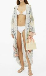 BNWOT Camilla Beach Shack Long Silk Cape