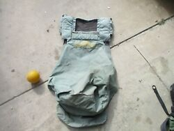 Used Helicopter Troop Seat Back Cover for Military Helicopter Blackhawk? UH 60 $35.00