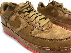 Nike Air Force 1 Low Inside out Sz 11.5 Maple Golden Mango 312486-27 $63.90