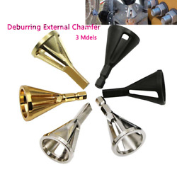 New 2020 Stainless Steel Deburring External Chamfer Tool Drill Bit Remove Burr   $3.39