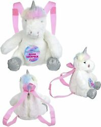 Expressions UNICORN Plush Backpack Novelty Girls Accessories $16.99