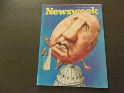 Newsweek Oct 8 1973 Agnew; Unmanned Drone Aircraft Then Not Now ID:14315 $10.00