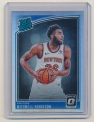 2018-19 Donruss Optic Holo #163 Mitchell Robinson Rated Rookie $20.00