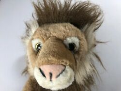 Born In Africa Lion Plush 11quot; Stuffed Animal Cute Cuddly Kids Beans Wildlife Zoo $12.88
