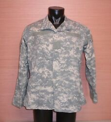 US Military Issue Army ACU Digital Camouflage Uniform Jacket Coat Shirt S M L XL $14.99