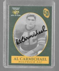1992 Champion AL CARMICHAEL Green Bay Packers Hall of Fame Hand Signed Autograph $14.99