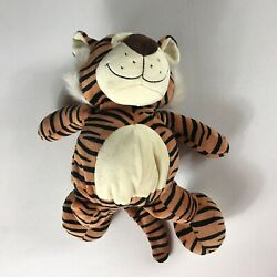 Nici Plush Tiger 15quot; Stuffed Beans Soft Cuddly Kids Animal Party Paw Happy Smile $18.00