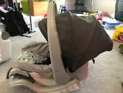 gray blue evenflo car seat unisex New used once infant rear facing $55.00