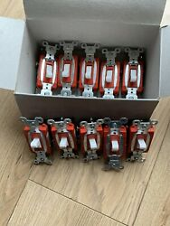 Box Of 10 Legrand Commercial 3-way Switch $14.75