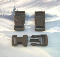 BLACK QUICK RELEASE BUCKLE FOR 1