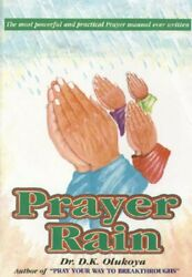PRAYER RAIN paper back  BY DK OLUKOYA $24.99