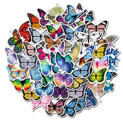 50Pcs Butterfly Stickers Decals for Laptop Guitar Luggage Graffiti Wall Decor $4.99