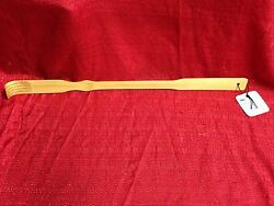 BAMBOO BACK SCRATCHER 20 INCHES FAST FREE SHIPPING BRAND NEW Long Reach Relief $4.99