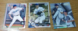 Topps Walker Buehler Rookie Card Lot of 3 Gold Label Bowman 1st 2018 Holiday RC $3.99