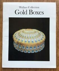 Wallace Collection Gold Boxes 1975 Introduction A.V. B. Norman Snuff Boxes $4.50