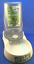1.5L Auto Pet Waterer Ideally sized for small dogs or cats $7.75