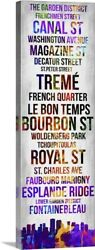 Streets of New Orleans I Canvas Wall Art Print New Orleans Home Decor $53.99