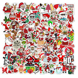 100Pcs Christmas Stickers Decals for Laptop Luggage Skateboard Wall DIY Graffiti $7.99
