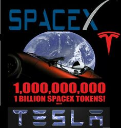 1000000000 SPACEX (SPACX) 1 BILLION TOKENS CRYPTO MINING CONTRACT ERC20 COINS $3.88