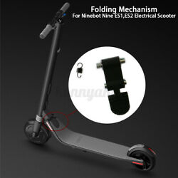 Folding Mechanism Repair Assembly Parts For Ninebot ES4 ES2 Scooter Black $19.38