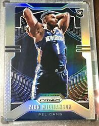 Elite Basketball NBA Hot Pack Prizm Silver #248 Zion Williamson Basketball Card