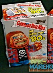 2019 GARBAGE PAIL KIDS WE HATE THE 90'S BLASTER BOX  EXCLUSIVE STICKER CARD $29.97