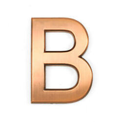 Barton 4quot; House Door Wall Hotel Apartment Home Street Self Adhesive Letter B