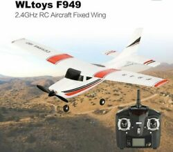 WLtoys F949 CESSNA 182 2.4Ghz 3CH RC RTF Airplane Aircraft Fixed Wing Plane B2S3 $33.89